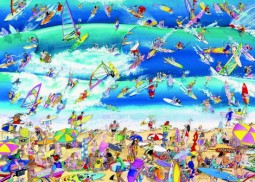 Heye puzzle 1000 db - Surfing, Blachon