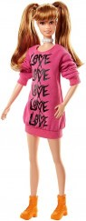 "Barbie Fashionista Bnők - ""Love"" ruhában (79)"