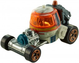 Hot Wheels Star Wars k. kisautók - Chopper
