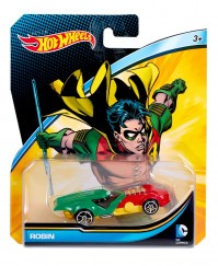 Hot Wheels DC kisautók - Robin