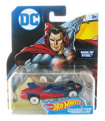 Hot Wheels DC karakter kisautók Man of Steel