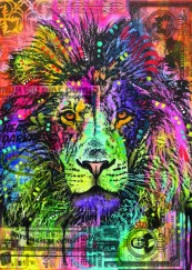 HEYE Puzzle 2000 db - Lion's Heart