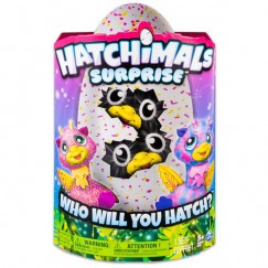 Hatchimals Giraven Ikrek interaktív plüss