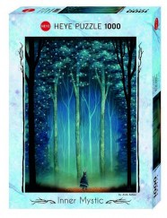 Heye puzzle 1000 db - Forest Cathedral