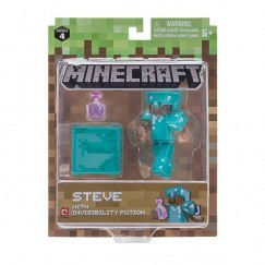 Minecraft Figura Steve With Invisibility Potion