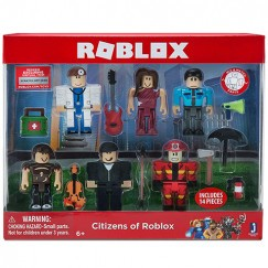 Roblox 6 db-os Figuraszett - Citizens Of Roblox